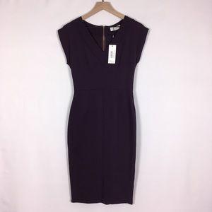 NWT Closet Ribbed Bodycon Pencil Dress size 8